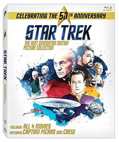 Star Trek Next Generation Motion Picture Collection Blu Ray