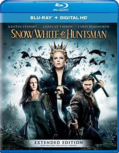 Snow White & The Huntsman Stewart Theron Hemsworth Blu Ray Pg13