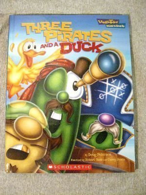 Doug Peterson Three Pirates & A Duck Veggie Tales Values To Grow By