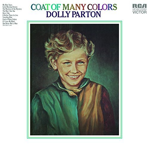 Dolly Parton Coat Of Many Colors Import Nld 180gm Vinyl