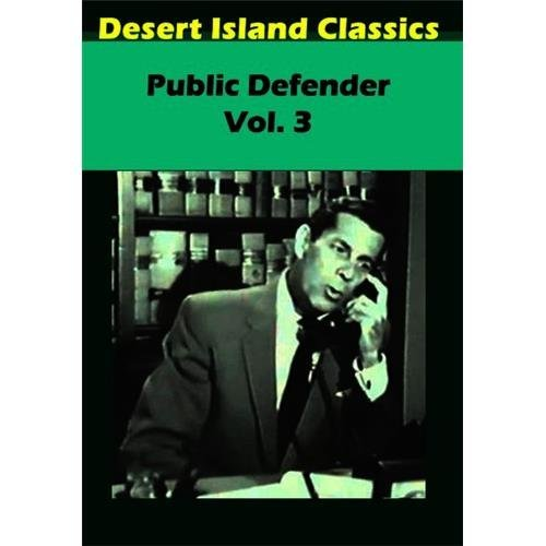Public Defender Vol. 3 DVD Mod This Item Is Made On Demand Could Take 2 3 Weeks For Delivery