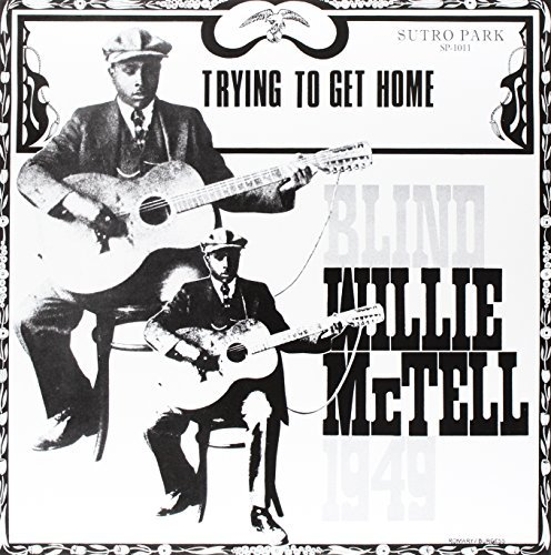 Blind Willie Mctell Trying To Get Home (gold Vinyl) Lp