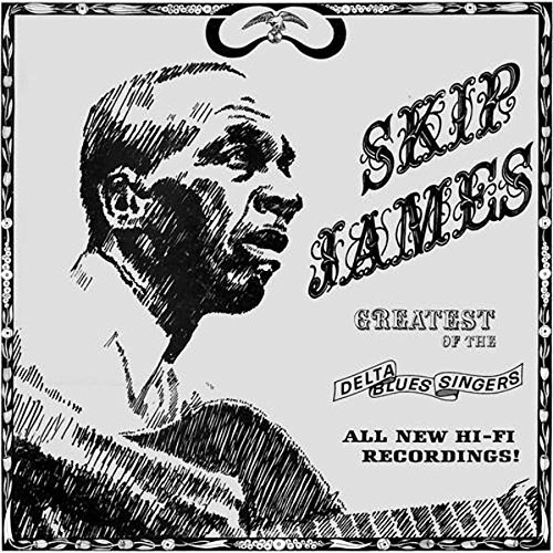 Skip James Greatest Of The Delta Blues Singers (blue Vinyl) Lp
