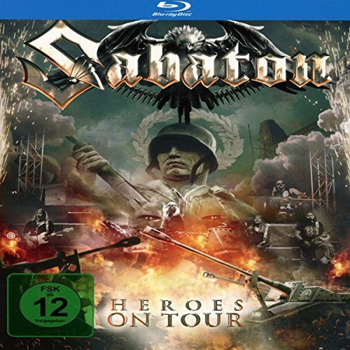Sabaton Heroes On Tour (with Bonus Blu Import Gbr Incl. Blu Ray