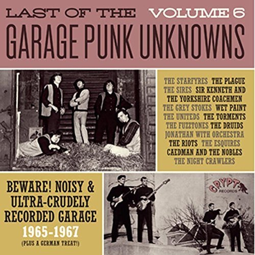 Various Artist Last Of The Garage Punk Unknow