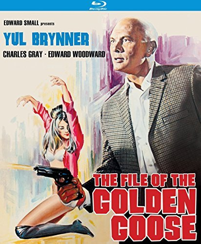 File Of The Golden Goose Brynner Gray Woodward Blu Ray Pg13