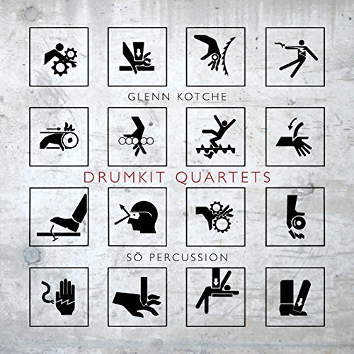 Kotche So Percussion Drumkit Quartets