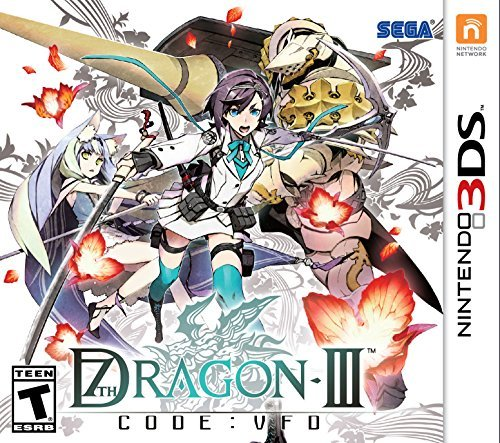 Nintendo 3ds 7th Dragon Iii Code Vfd (includes Collectors Box & Art Book)