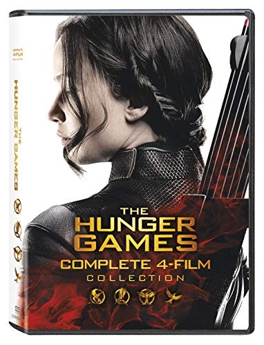 Hunger Games Complete 4 Film Collection DVD