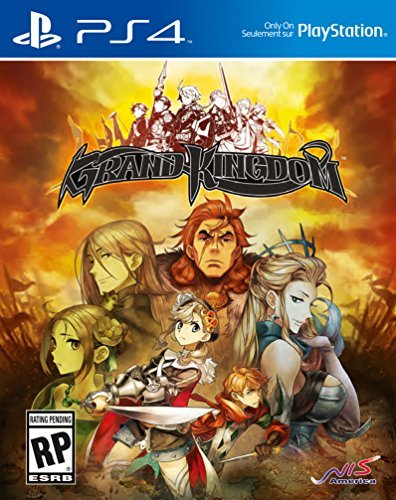 Ps4 Grand Kingdom Launch Edition Includes Game Art Book & Sound Track.