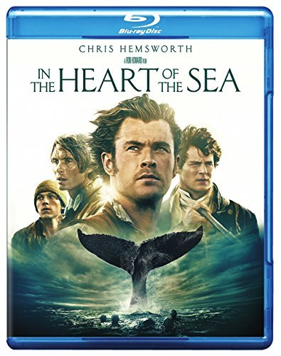 In The Heart Of The Sea Hemsworth Walker Murphy Gleeson Whishaw Blu Ray DVD Dc Pg13
