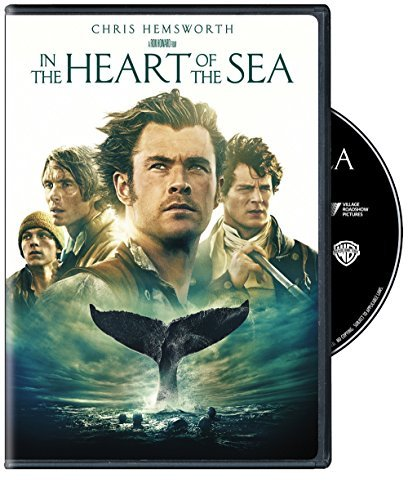 In The Heart Of The Sea Hemsworth Walker Murphy Gleeson Whishaw DVD Pg13
