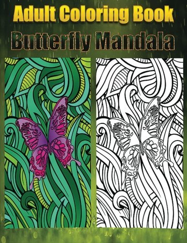 Tina Rinels Adult Coloring Book Butterfly Mandala