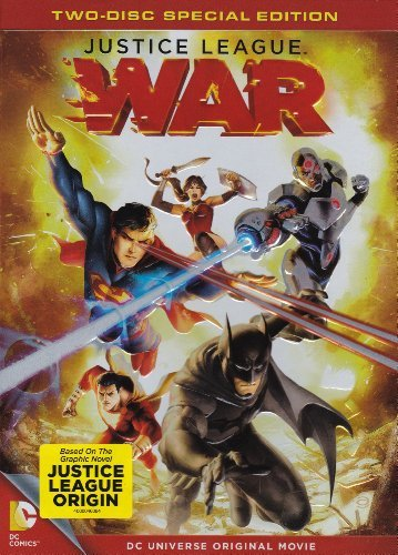 Justice League War 2 Disc Special Edition