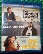 The Lincoln Lawyer Alex Cross One For The Money Triple Feature