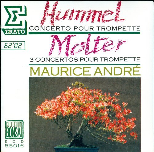 Maurice Andre Hummel Trumpet Ctos.