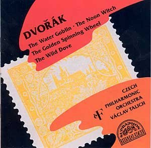 Dvorak Vaclav Talich Czech Philharmonic Orchestra Water Goblin Noon Witch Golden