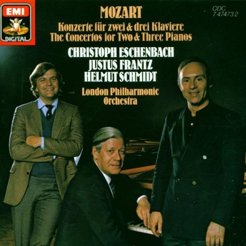 Mozart London Philharmonic Orchestra Christoph Esc Mozart ~ The Concertos For Two & Three Pianos (k24