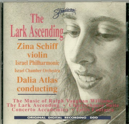 Vaughan Williams Dalia Atlas Israel Philharmonic O Lark Ascending Charterhouse Suite Violin Conce