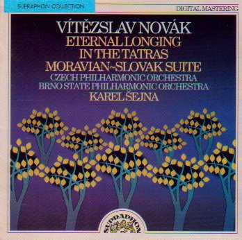 Vitezslav Novak Karel Sejna Czech Philharmonic Orc Novak Orchestral Works (eternal Longing In The T