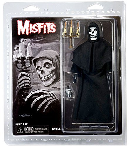 "Action Figure Misfits Clothed 8"" Figure Black"