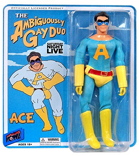 Action Figure Saturday Night Live Ambiguously Gay Duo Ace