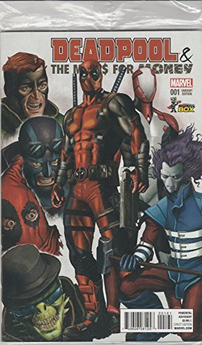 Comic Book Deadpool & Merc$ For Money