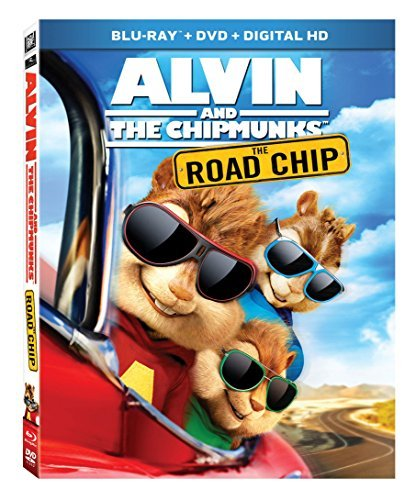 Alvin And The Chipmunks The Road Chip Alvin And The Chipmunks The Road Chip Blu Ray DVD Dc Pg