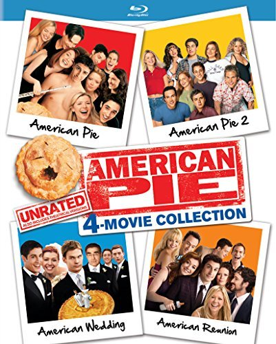 American Pie Unrated 4 Movie Collection Blu Ray Ur
