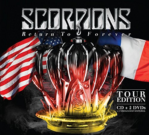 Scorpions Return To Forever (tour Editio Box Set