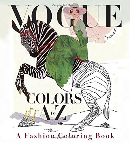 Valerie Steiker Vogue Colors A To Z A Fashion Coloring Book