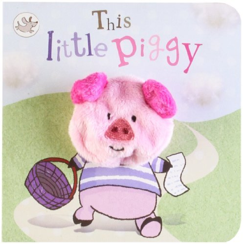 Parragon Books Ltd This Little Piggy Finger Puppet Book
