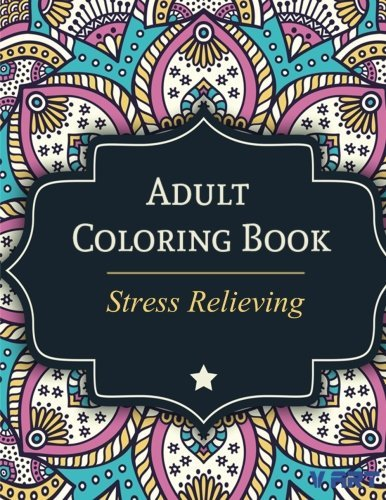 Tanakorn Suwannawat Adult Coloring Book Stress Relieving