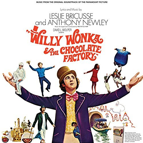 Willy Wonka & The Chocolate Factory Soundtrack (gold Vinyl)
