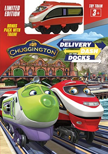 Chuggington Delivery Dash At The Docks DVD W Toy