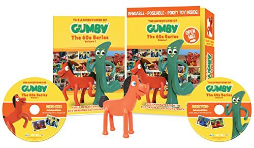 Gumby Volume 1 DVD W Toy
