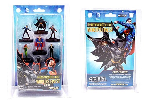 Heroclix Dc Worlds Finest Fast Forces