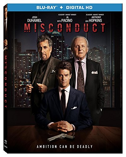 Misconduct Duhamel Hopkins Pacino Blu Ray Dc R