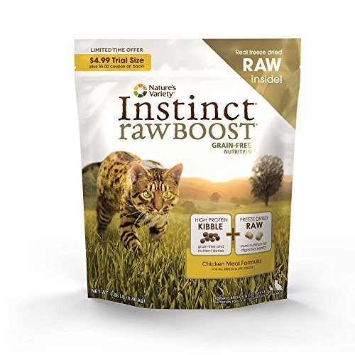 Nature's Variety Cat Instinct Boost Chicken .88lb *nav Cat Inst Boost Ck .88lbs