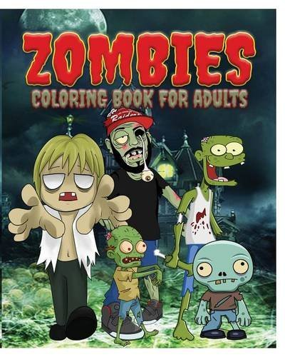 Jason Potash Zombies Coloring Book For Adults