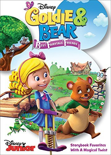 Goldie & Bear Best Fairytale Friends DVD