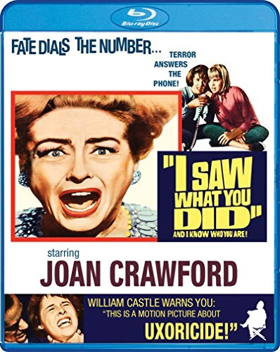 I Saw What You Did Crawford Erickson Blu Ray Nr