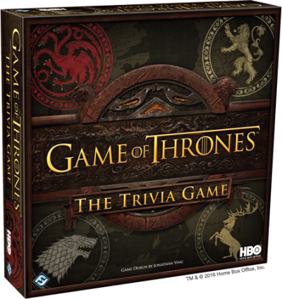 Trivia Game Game Of Thrones