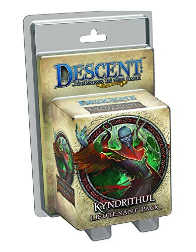 Board Game Descent Kyndrithul Lieutenant Miniature Expansion 0002 Edition