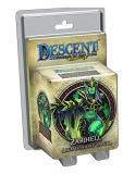 Board Game Descent 2nd Ed. Zarihell Lieutenant Miniature Exp 0002 Edition