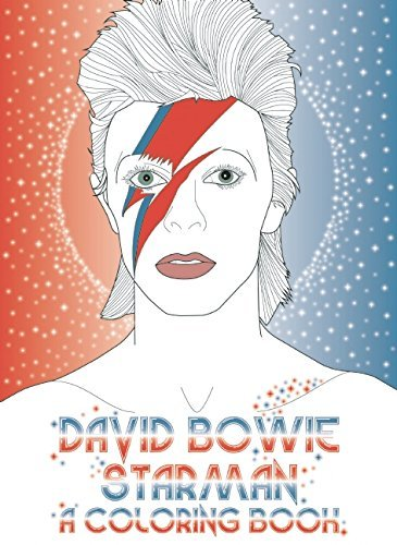 Laura Coulman David Bowie Starman A Coloring Book