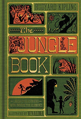 Rudyard Kipling The Jungle Book (illustrated With Interactive Elem