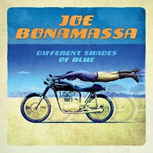 Joe Bonamassa Different Shades Of Blue 2xlp 180 Gram Black Vinyl