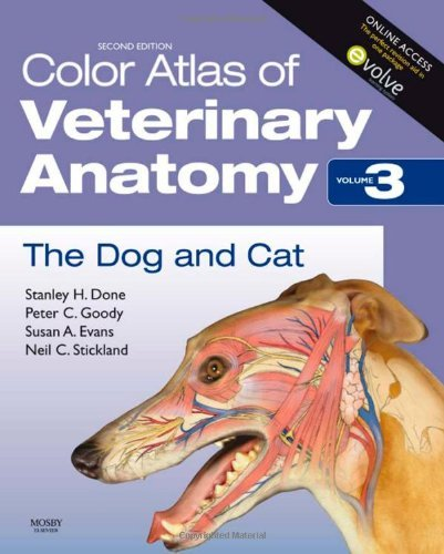 Stanley H. Done Color Atlas Of Veterinary Anatomy Volume 3 The Dog & Cat 0002 Edition;