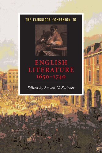 Steven N. Zwicker The Cambridge Companion To English Literature 165